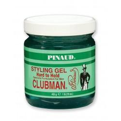 Гель для укладки мягких и тонких Clubman Pinaud Hard To Hold  453 грамм