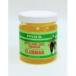 Гель для укладки Clubman Super Hold супер фиксации 453 грамм