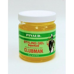 Гель для укладки Clubman Super Hold супер фиксации 519 грамм
