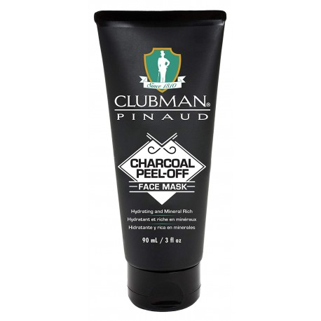 Маска черная для лица Clubman Peel-off Black Mask 90 мл