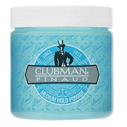 Помадка для укладки волос средней фиксации Clubman Medium Hold Pomade 113 грамм