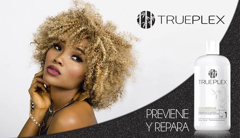 Восстановление поврежденных волос - TRUEPLEX